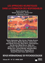 Revue internationale de Psychosociologie 2009/37
