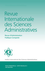 Revue Internationale des Sciences Administratives 2008/3