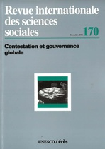Revue internationale des sciences sociales  2001/4