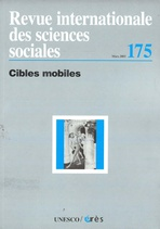 Revue internationale des sciences sociales  2003/1