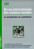 Revue internationale des sciences sociales  2005/3