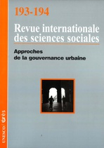 Revue internationale des sciences sociales  2007/3-4