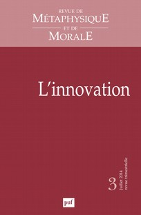 couverture de L'innovation
