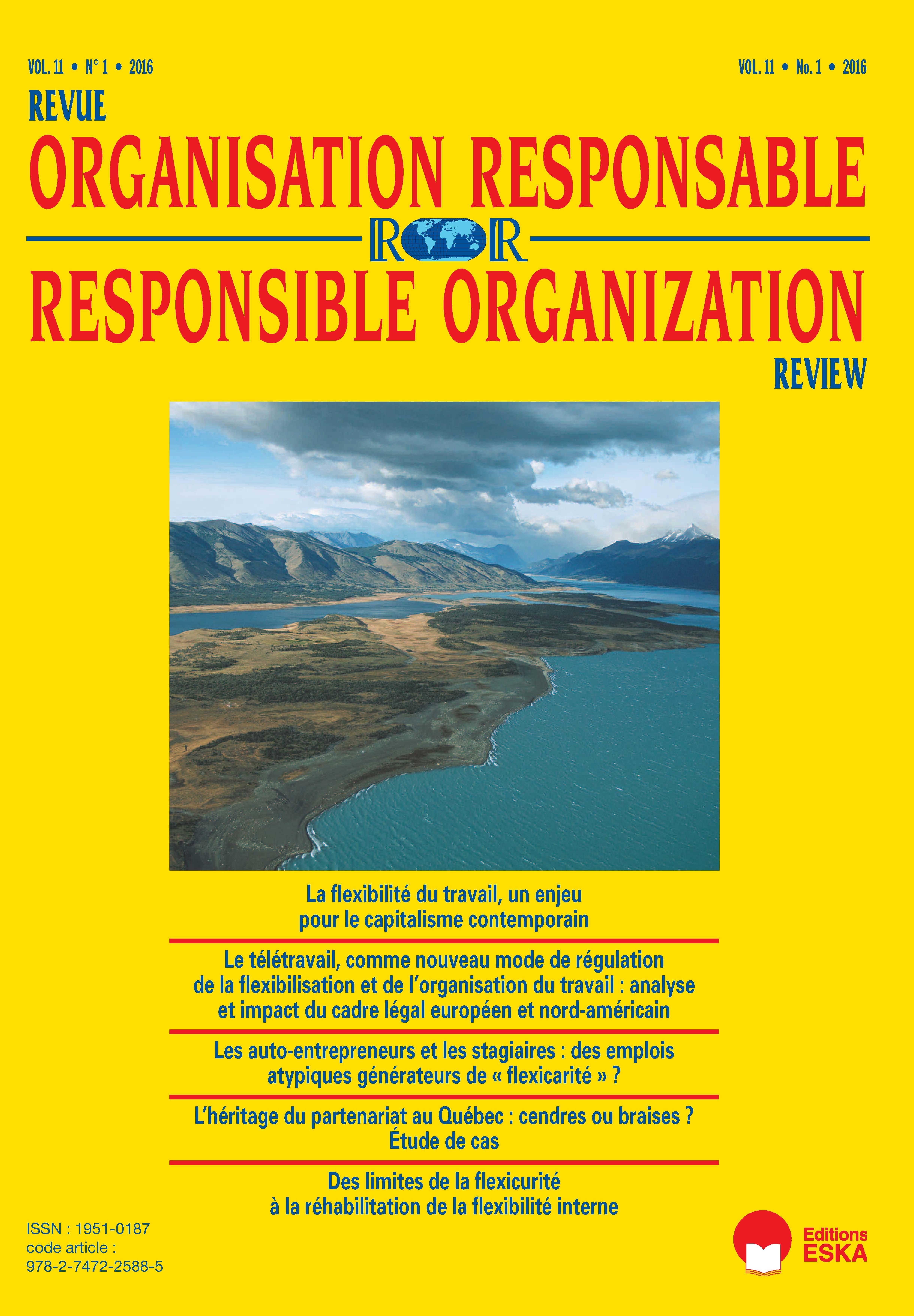 5a0a0cedd0 Le télétravail, comme nouveau mode de régulation de la flexibilisation et  de l'organisation du travail : analyse et impact du cadre légal européen et  ...