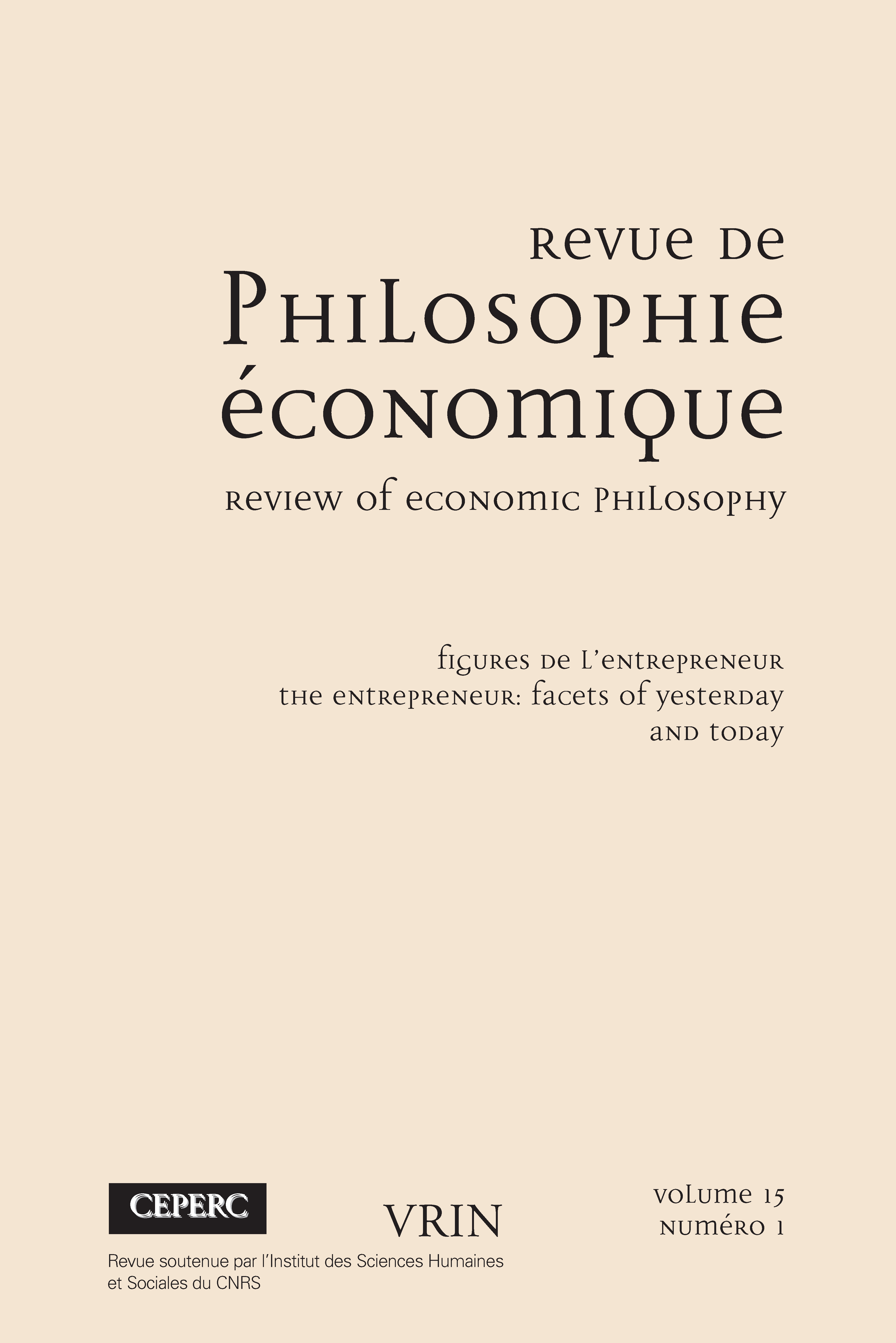 The Foundations Of The Theory Of Entrepreneurship In Austrian