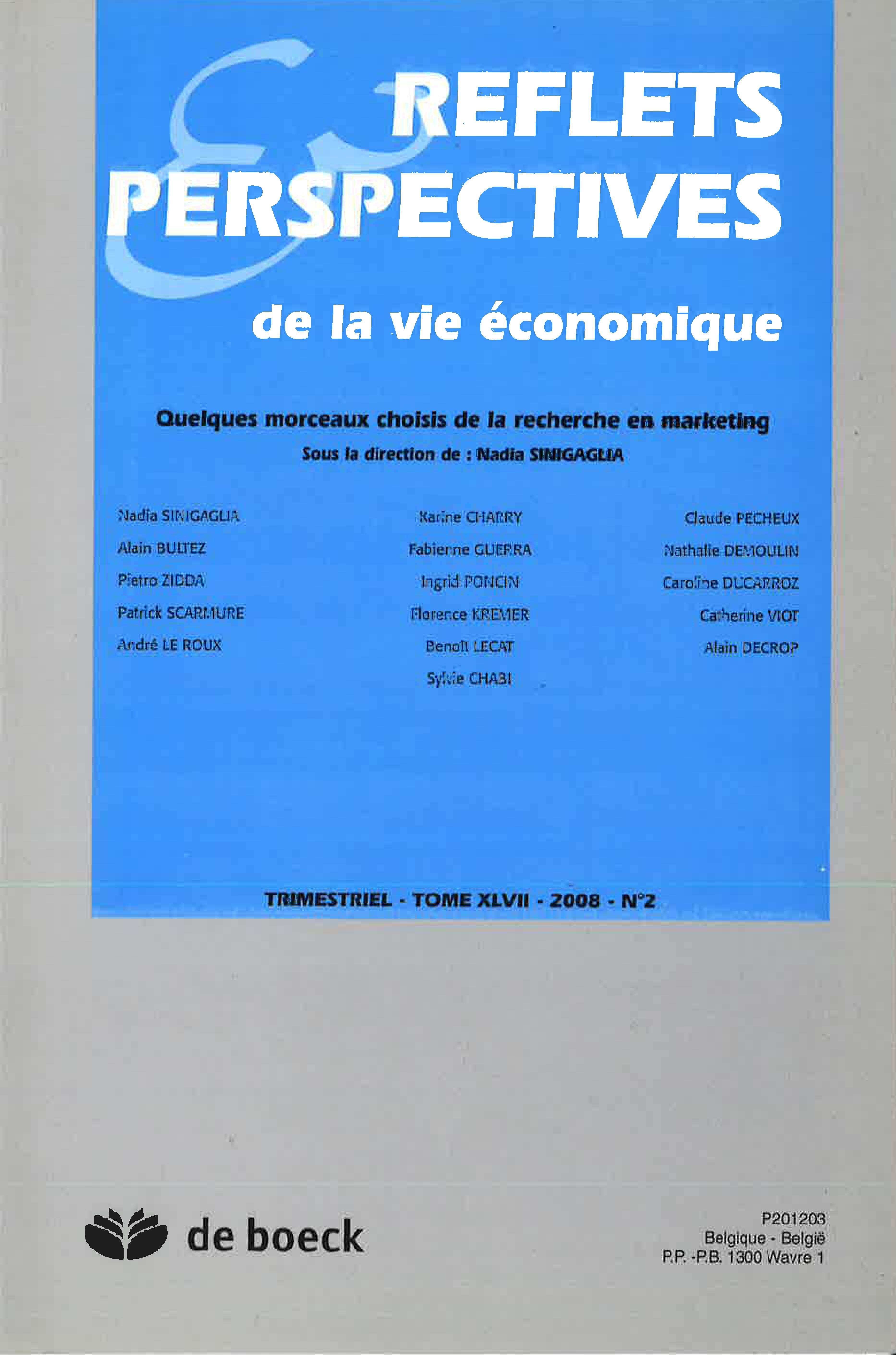 Les paradoxes du consommateur postmoderne   Cairn.info 3564d8036d41