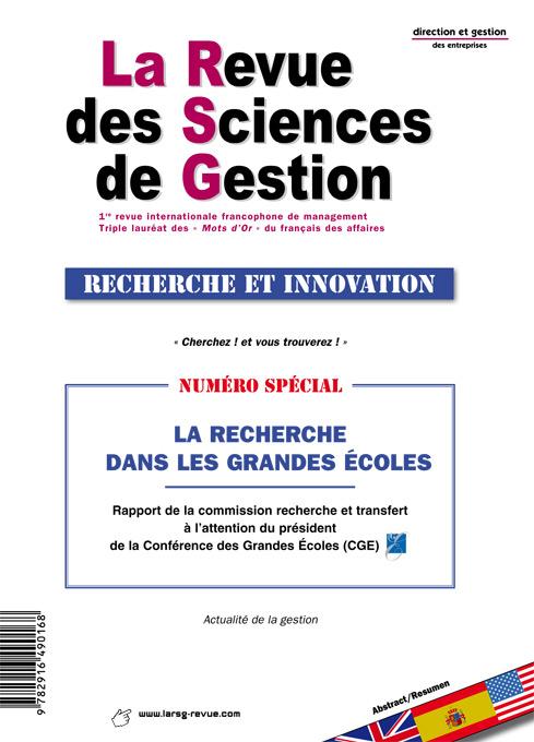 7a4a24bb34aacd Pour une gestion raisonnée de la Métis De la promotion d une recherche «  sciantifique » dans les Grandes écoles et ailleurs Rapport de la commission  ...