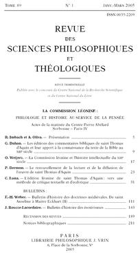 Bulletin dhistoire des sotrismes cairnfo revue des sciences philosophiques et thologiques 20051 fandeluxe Choice Image