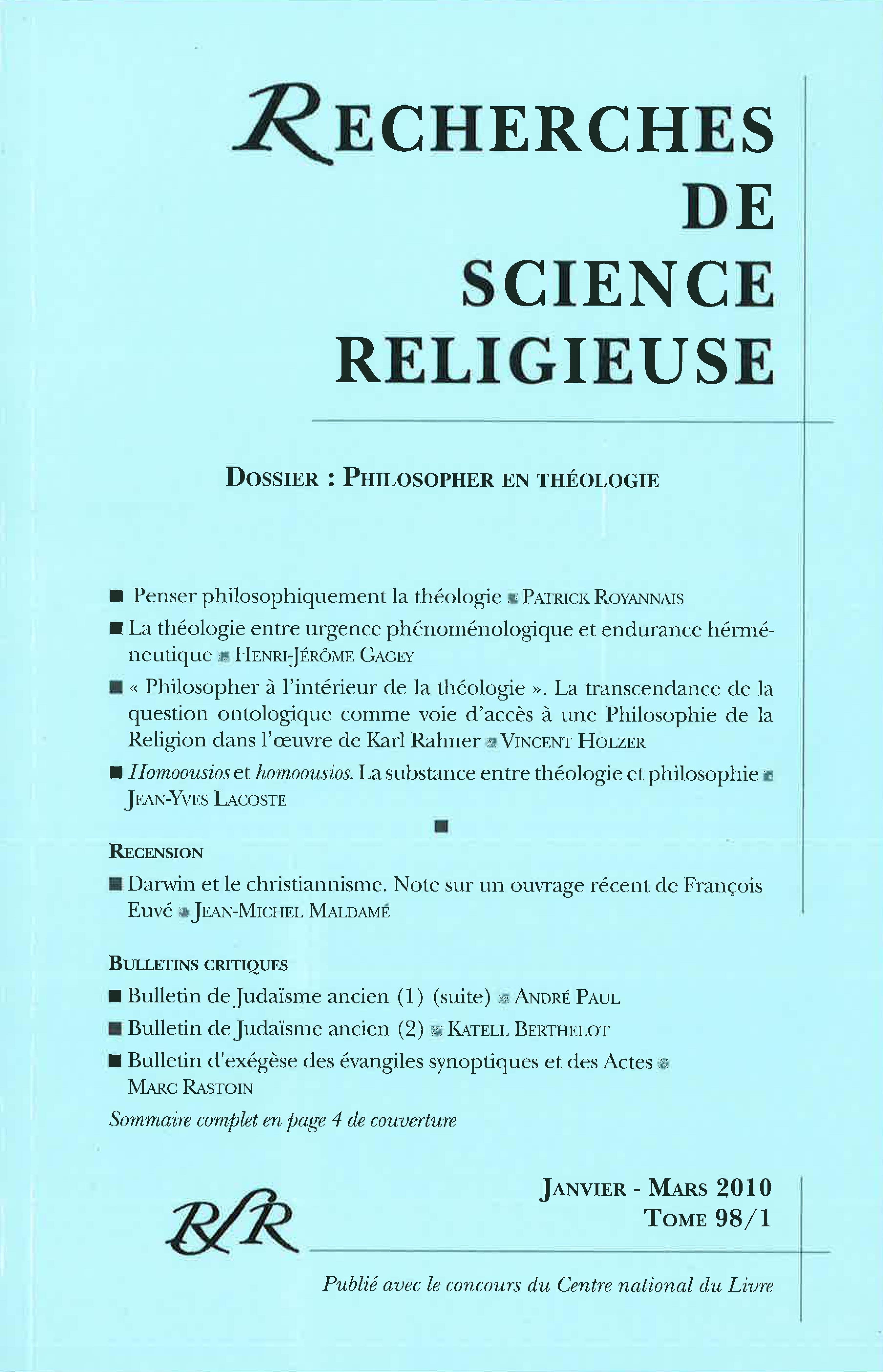 Bulletin de judaïsme ancien (2) | Cairn.info