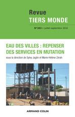 Revue Tiers Monde 203 - Eau des villes