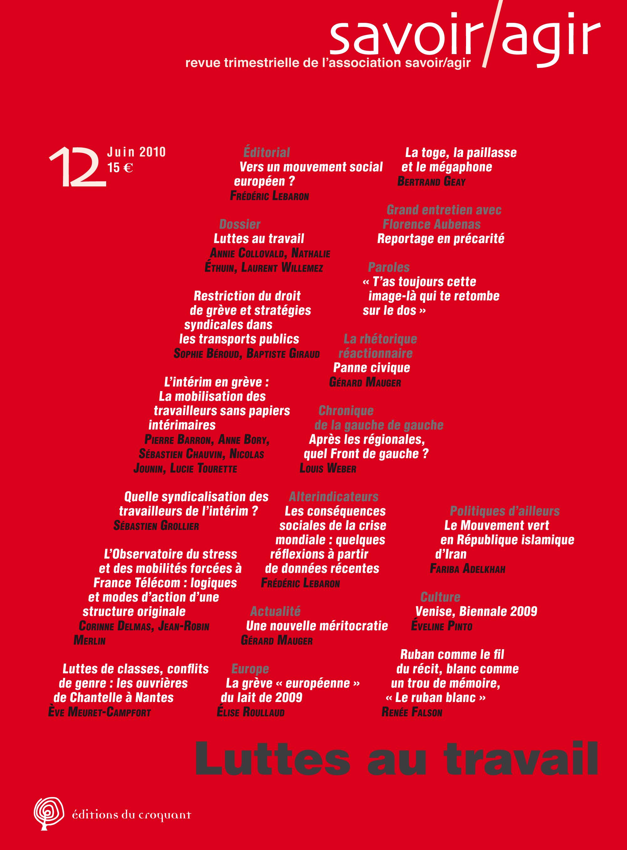 22d374e5ff3 La grève « européenne » du lait de 2009   réorganisation des forces  syndicales sur fond de forte dérégulation du secteur