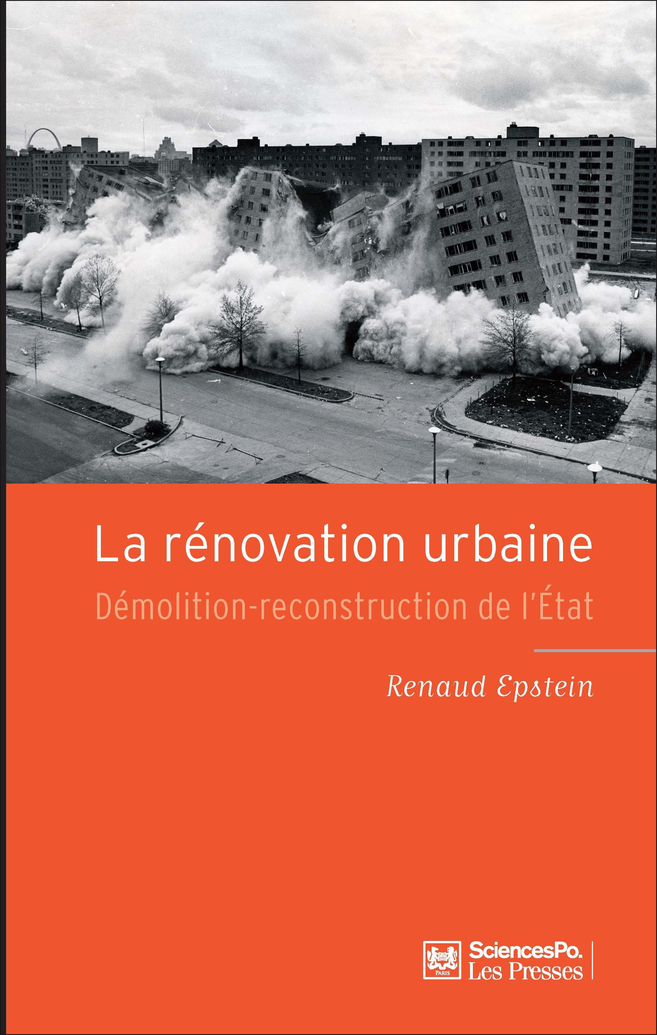 la rénovation urbaine renaud epstein