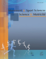 Movement & Sport Sciences 2012/3