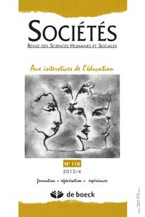 couverture de Sociétés 2012/4