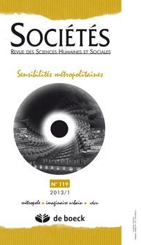 couverture de Sociétés 2013/1