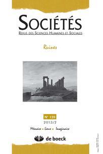 couverture de Sociétés 2013/2