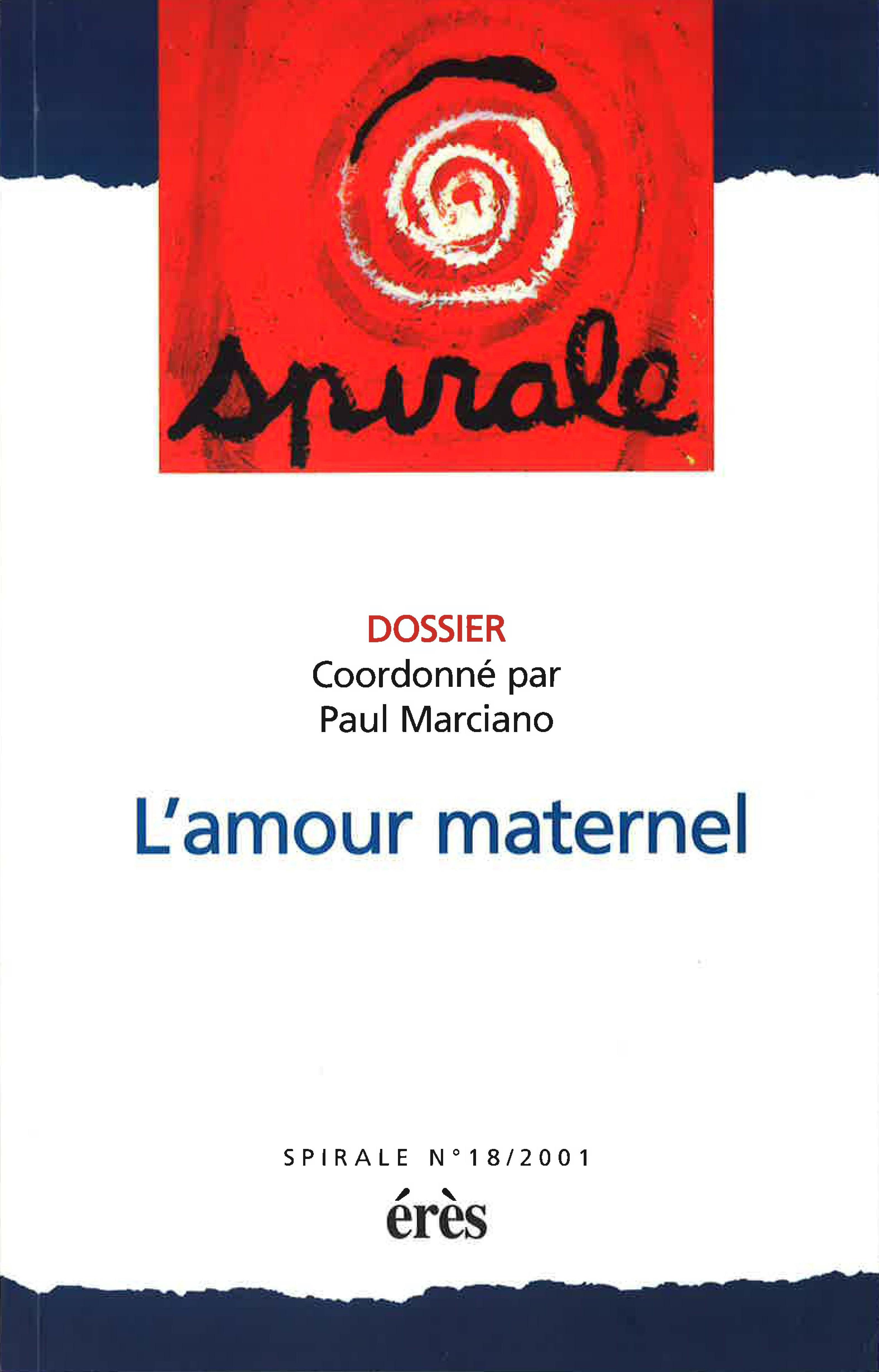 Lamour Maternel Aspects Historiques Cairninfo