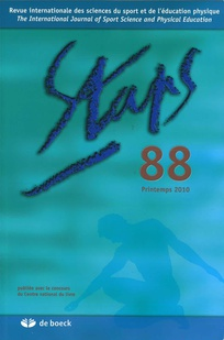 couverture de Staps 2010/2