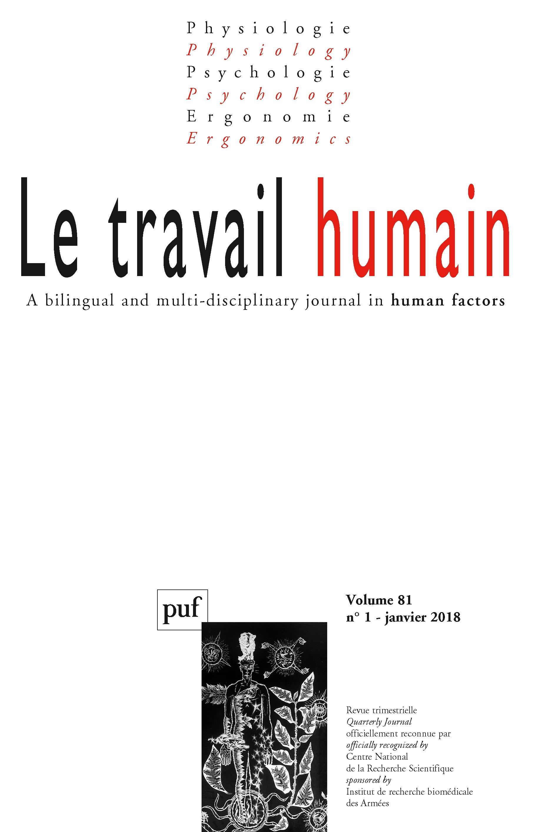 95671551e8b5 Les mots du travail   analyse des thématiques de recherche publiées dans Le  travail humain de 1933 à 2016   Cairn.info