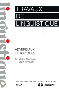 Travaux de linguistique 2003/2