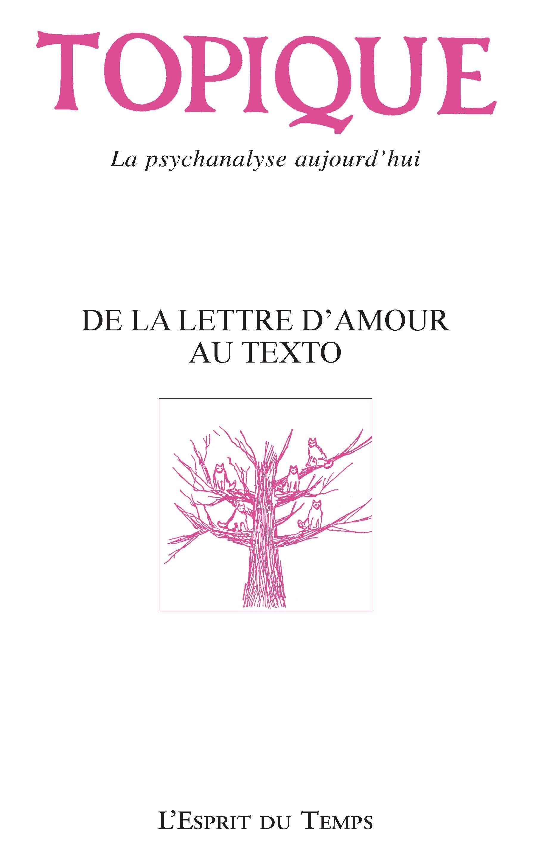 De La Lettre Au Texto Du Texte à La Lettre Cairninfo