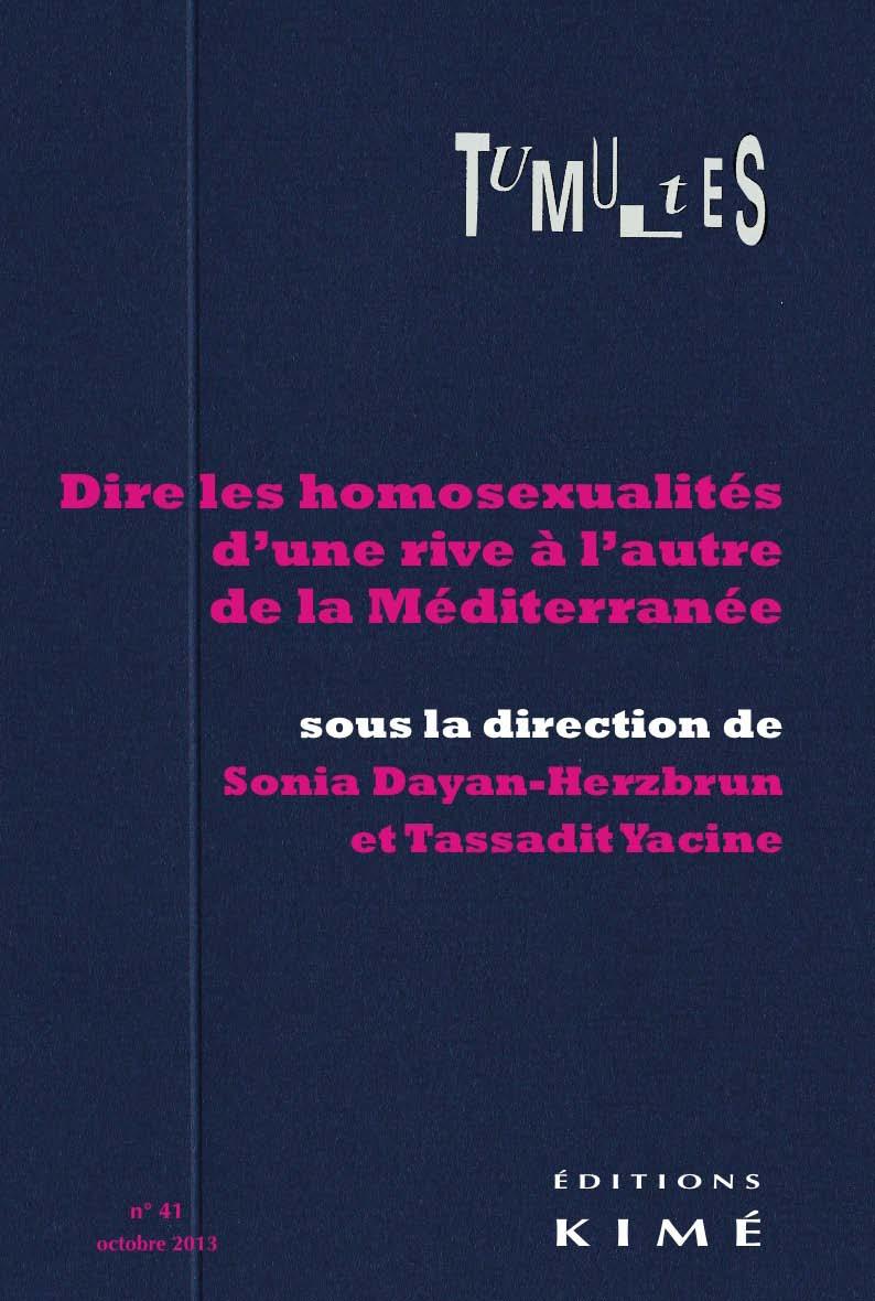 Dire Ou Ne Pas Dire Les Homosexualités Cairninfo
