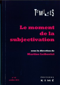 couverture de Le moment de la subjectivation